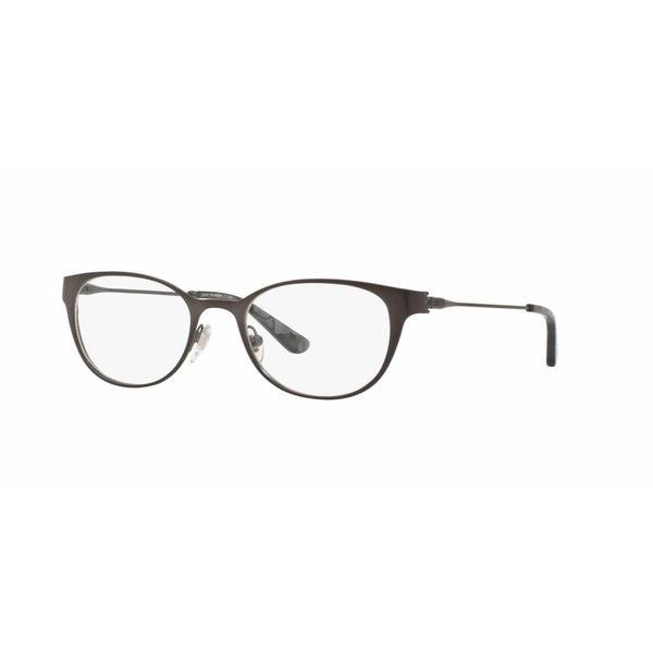 Tory Burch Womens TY1050 3162 Gunmetal Metal Oval Eyeglasses 22553436