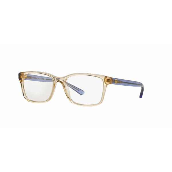 Tory Burch Womens TY2064 1543 Honey Plastic Square Eyeglasses
