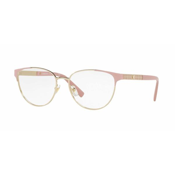 Versace Womens VE1238 1385 Gold Metal Phantos Eyeglasses