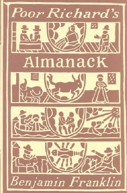 Poor Richards Almanack (Hardcover)