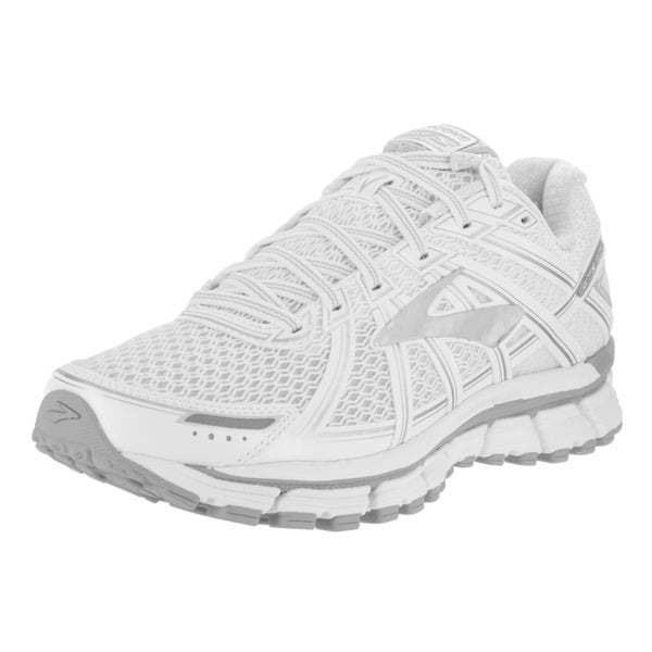 Brooks Women's Adrenaline GTS 17 White Running Shoes