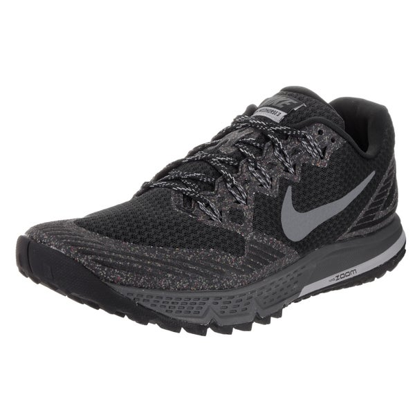 Nike Men's Air Zoom Wildhorse 3 Black Running Shoes
