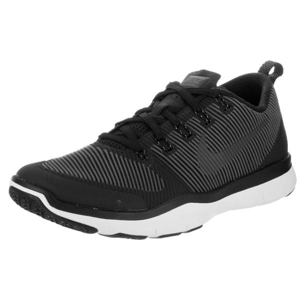 Nike Men's Free Train Versatility Black Textile Training Shoes