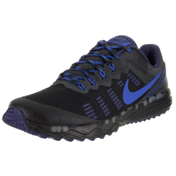 Nike Men's Dual Fusion Trail 2 Black Running Shoes