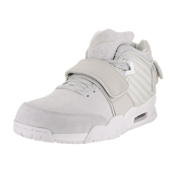 Nike Men's Air Trainer Cruz Grey Suede Crosstraining Shoe