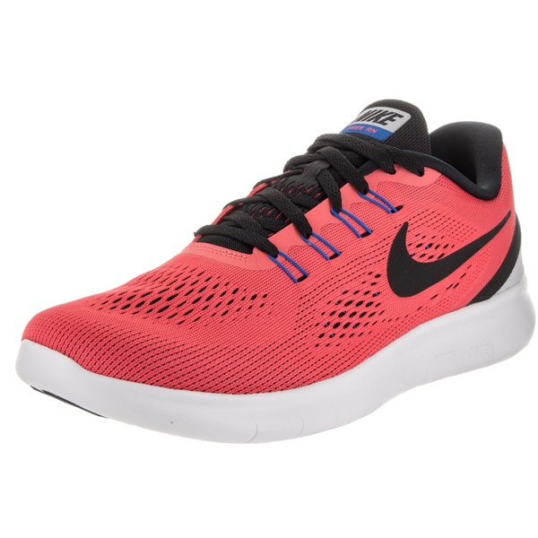 Nike Men's Free Run Red Mesh Running Shoe