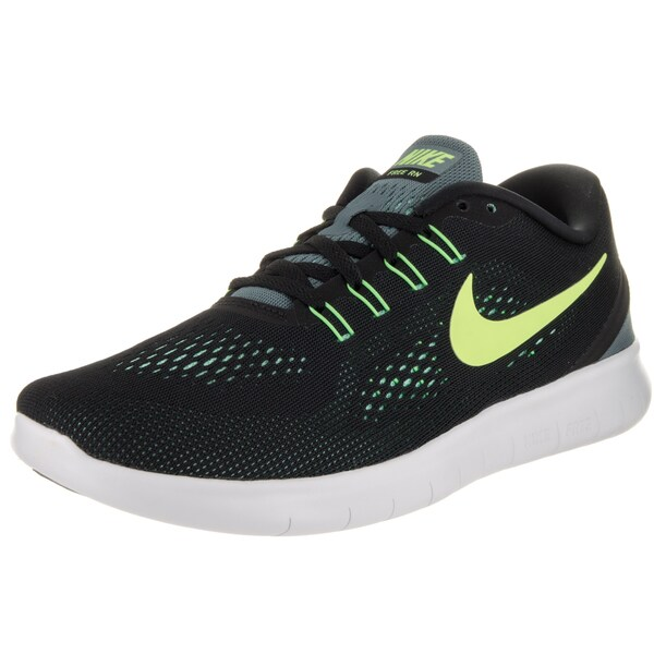 Nike Men's Free Run Black Mesh Running Shoe