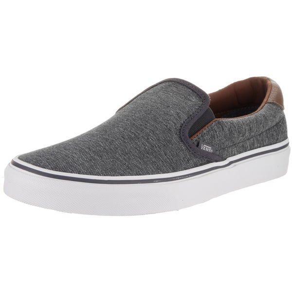 Vans Unisex Slip-on 59 (Denim C&L) Grey Canvas Skate Shoes