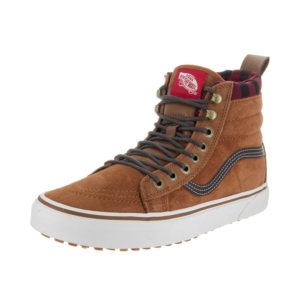 Vans Unisex Sk8-Hi MTE Brown Suede Skate Shoes