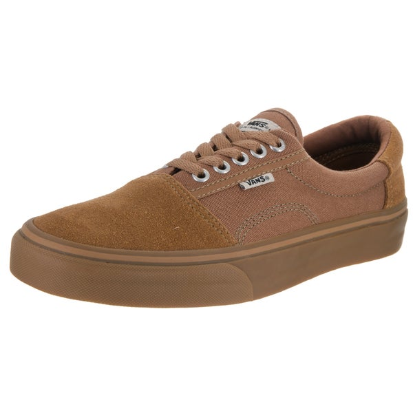 Vans Men's Rowley (Solos) Brown Suede Skate Shoe