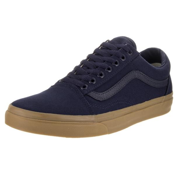 Vans Unisex Old Skool Canvas Gum Skate Shoes