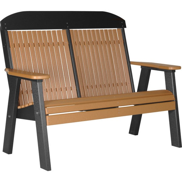 Poly 4ft. Classic Highback Bench