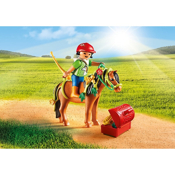 Playmobil PM6968 Groomer with Bloom Pony Playset 22565117