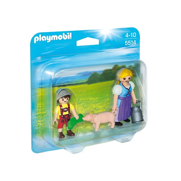 PlayMobil PM5514 Country Woman and Boy Duo Pack 22565183