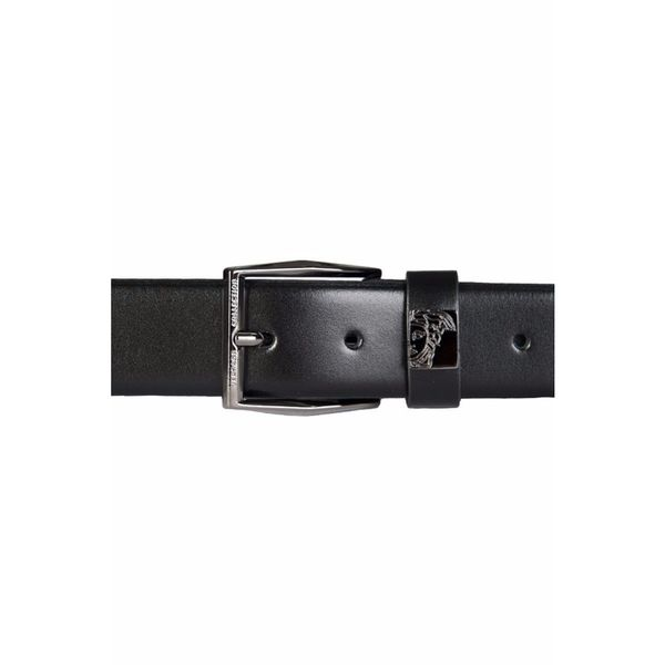 Versace Collection Black Leather Belt (XL)