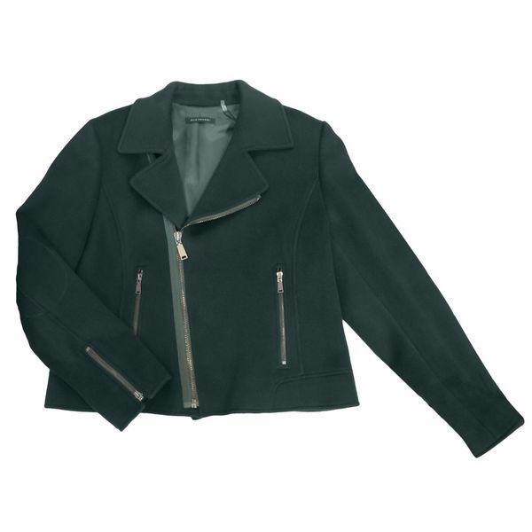 Elie Tahari Mae Women's Green Wool XL Jacket