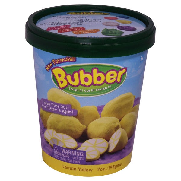 Waba Fun LLC Bubber 21 oz. Big Box Yellow Compound