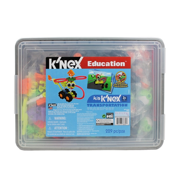Kid K'NEX Transportation Construction Set