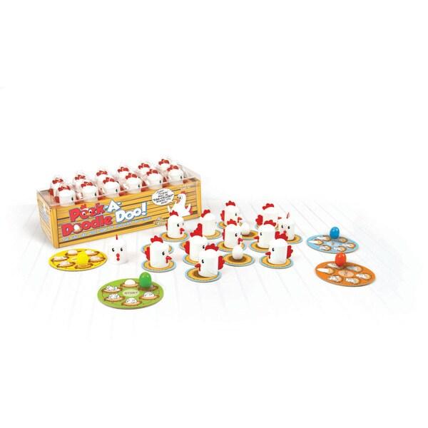 Fat Brain Toys Peek-A-Doodle Doo Chicken Game