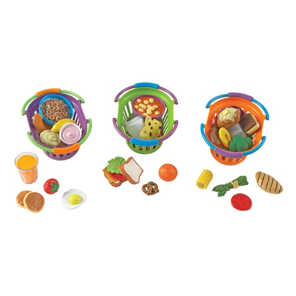 Learning Resources New Sprouts Multicolor Plastic Complete Meals Play Set