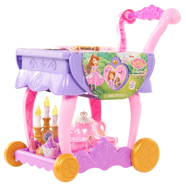 Disney Junior Sofia the First 13-piece Delightful Dining Cart 22568916