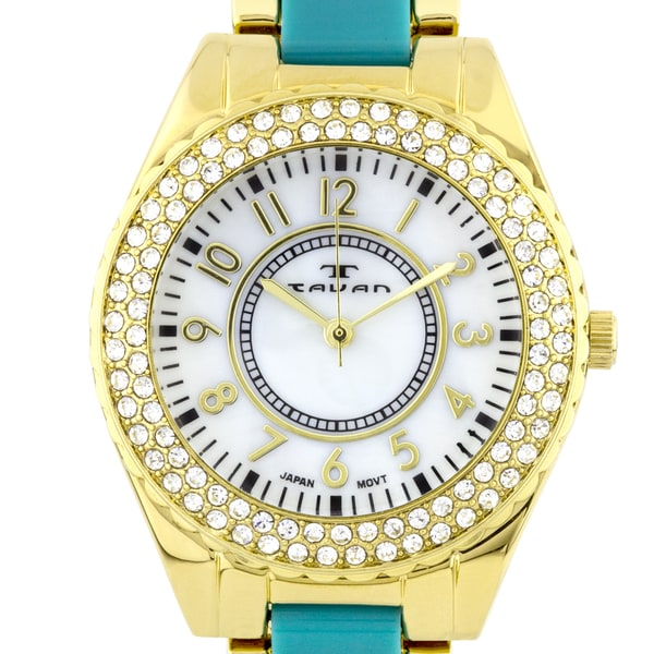 Tavan Careen Ladies Watch Swarovski Crystals
