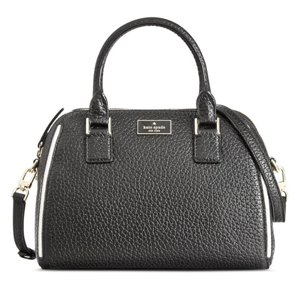 Kate Spade New York Pippa Small Black Satchel Handbag