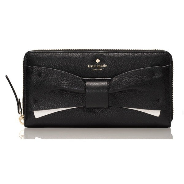 Kate Spade Eden Lane Lacey Black Wallet