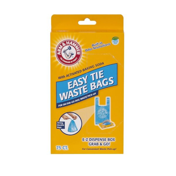 Petmate Arm and Hammer Easy-Tie Waste Bags