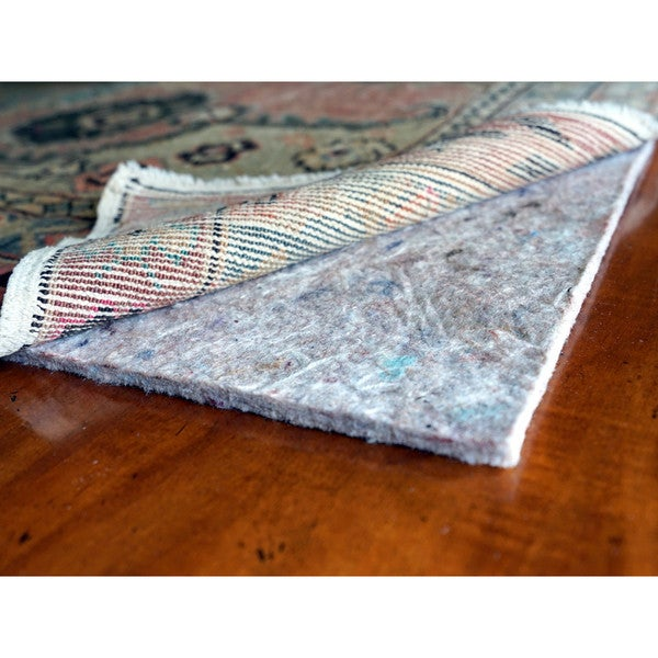JustPlush 1/4-inch Thick Cushioned Felt Rug Pad (10' x 13') 22599556
