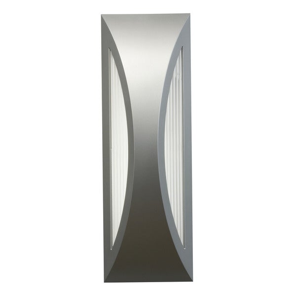 Kichler Lighting Cesya Collection 1-light Platinum Indoor/Outdoor LED Wall Sconce
