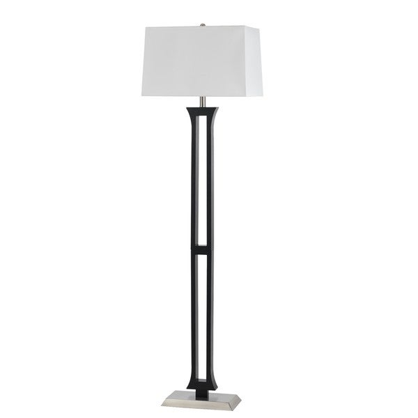 100 watt metal floor lamp 22662089 la 8022fl 1 bs cal lighting photo. Black Bedroom Furniture Sets. Home Design Ideas