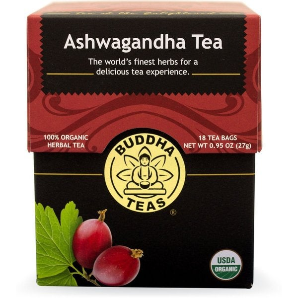 Buddha Teas Ashwagandha Tea Bags (Case of 18) 22662648