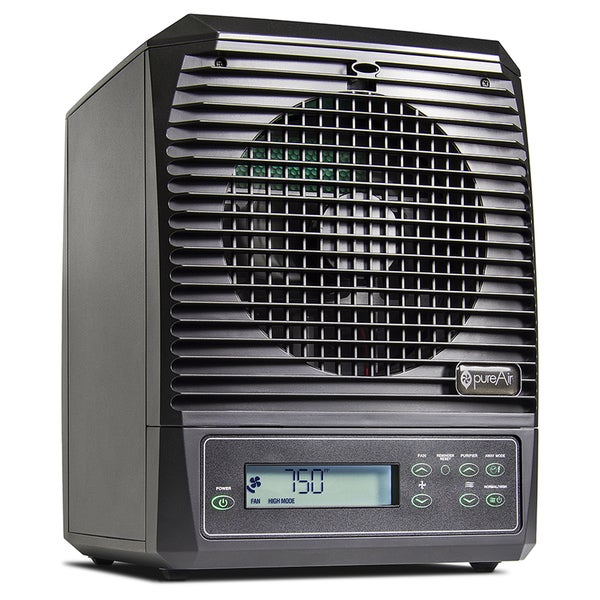 Green Tech Environmental Pure Air Black Plastic Whole Home Air Purifier 22662957
