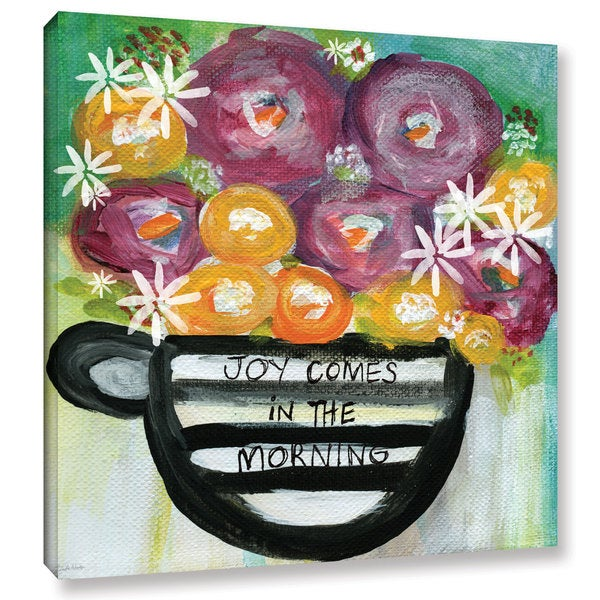 Linda Woods's 'Cup of Joy 2' Gallery Wrapped Canvas 22666858