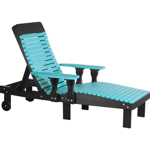 Outdoor Poly Chaise Lounge Chair