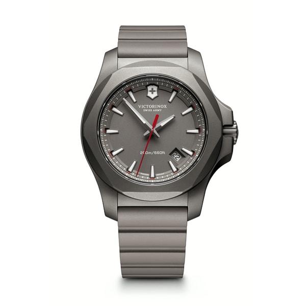 Victorinox Men's Grey INOX Titanium Watch -  Victorinox Swiss Army, 241757