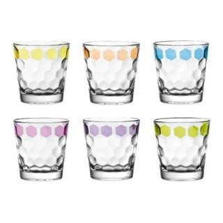 Majestic Gifts Quality Glass Double Old Fashioned Tumbler (Set of 6) 22675664