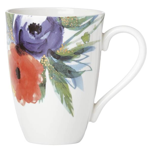 Lenox Passion Bloom Multicolor Porcelain Tall Mug 22783530
