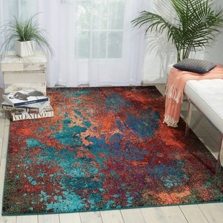 Nourison Celestial Abstract Ombre Area Rug