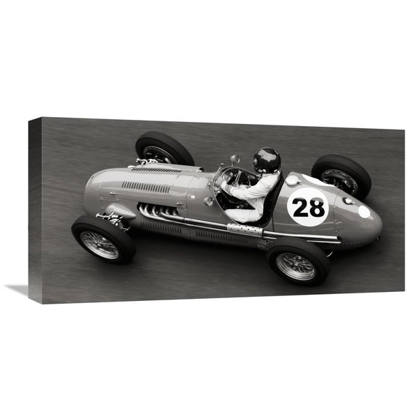 Global Gallery Peter Seyfferth  Historical race car at Grand Prix de Monaco  Stretched Canvas Artwork 22788568