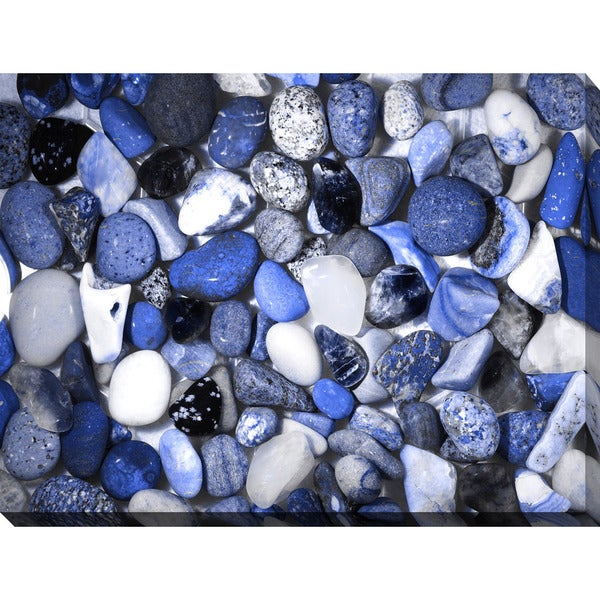 """Water Stones 12"" Giclee Print Canvas Wall Art 22792350"