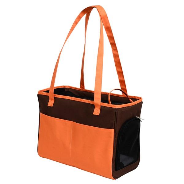 Iconic Pet FurryGo Brown Mesh Shoulder Carrier/Bag 22810934