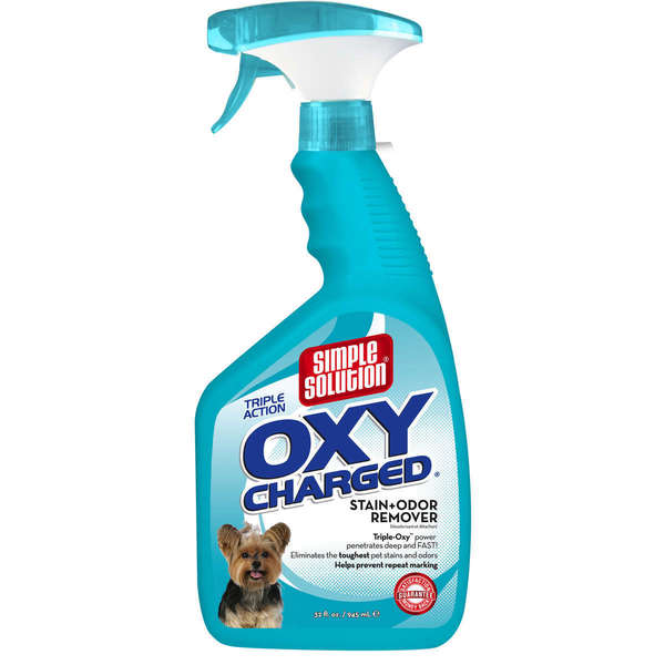 Simple Solution Oxy Charged Pet Stain and Odor Remover 22833439