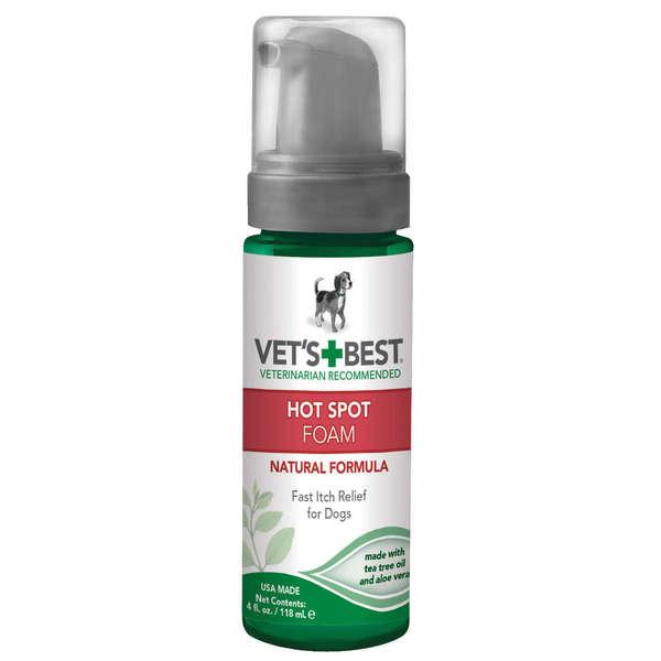 Vet's Best Hot Spot Dog Skin Care Foam 22834933