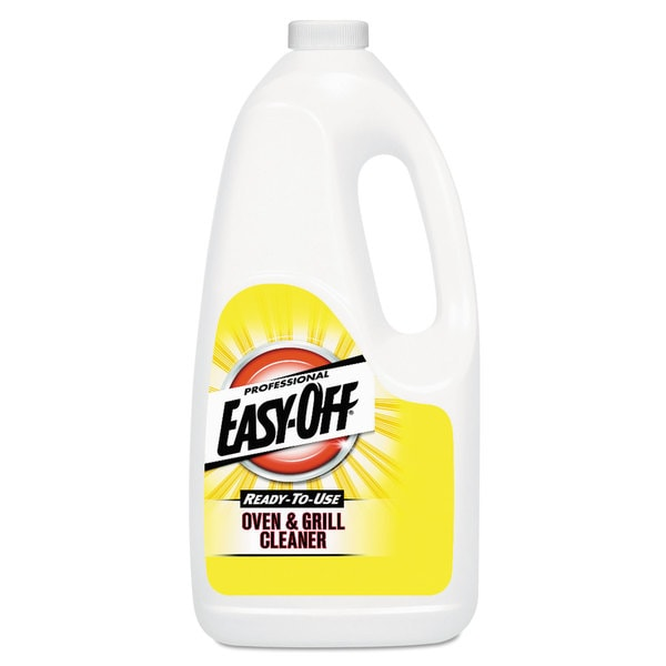Professional EASY-OFF Oven & Grill Cleaner, Liquid, 2qt Bottle 22849697
