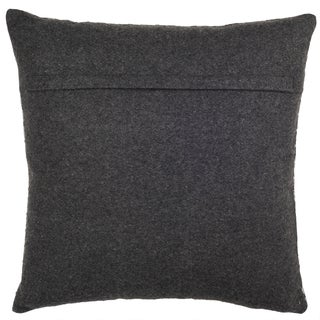 Safavieh 18-inch Perry Hounds Tooth Grey Decorative Pillow