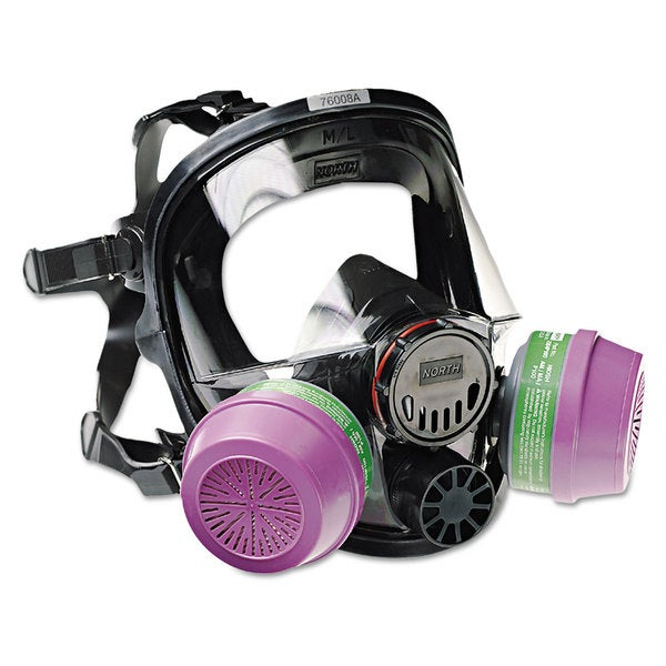 North Safety 7600 Series Full-Facepiece Respirator Mask, Medium/Large 22860304