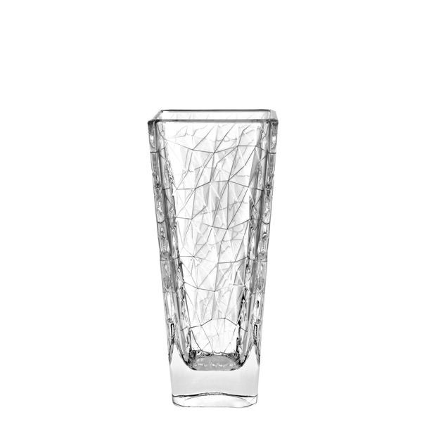 Majestic Gifts Clear Glass 12-inch High Vase 22864528