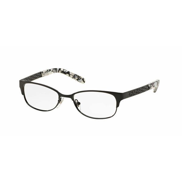 Tory Burch Womens TY1047 3079 Black Metal Rectangle Eyeglasses 22888217